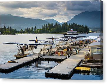 Bc Seaplanes Canvas Print by Inge Johnsson