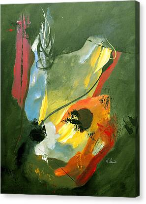 Be Faithful Canvas Print by Ruth Palmer