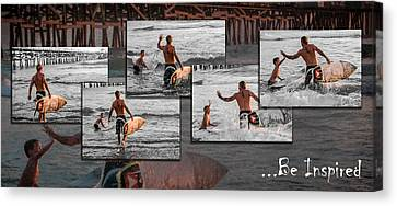 Be Inspired - Pano Canvas Print by Scott Campbell
