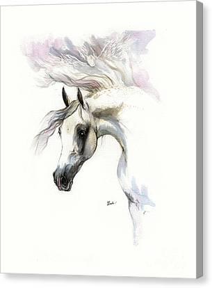 Be My Guardian Angel Canvas Print by Angel Tarantella