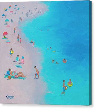 Beach Bliss Canvas Print by Jan Matson