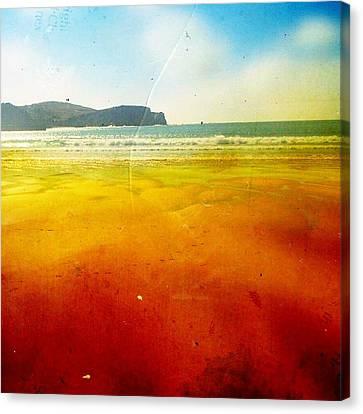 Beach Canvas Print by Contemporary Art