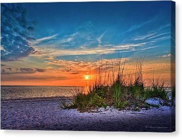 Beach Dune Canvas Print by Marvin Spates