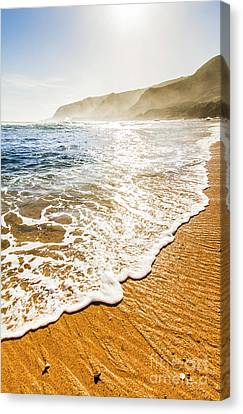 Beach Fine Art Canvas Print by Jorgo Photography - Wall Art Gallery