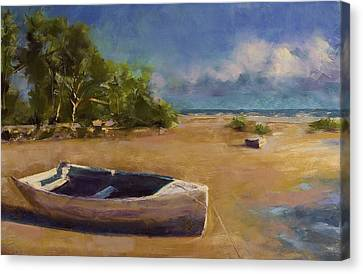 Beached Canvas Print by David Patterson