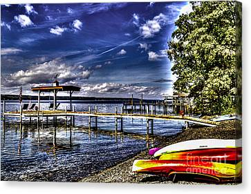 Beached Canvas Print by William Norton