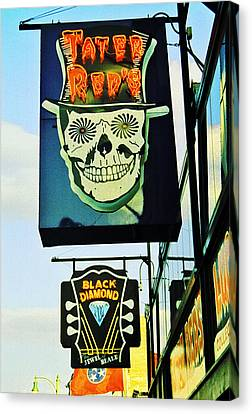 Beale St. 1 Canvas Print by Jame Hayes