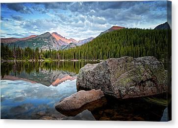 Bear Lake Rocky Mountain National Park 3172  Canvas Print by Ken Brodeur