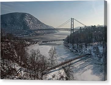 Bear Mountain Bridge Canvas Print by Photosbymo