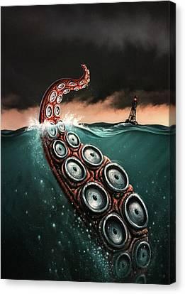 Beast 1 Canvas Print by Jerry LoFaro