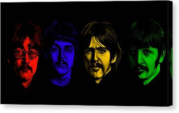 Beatles No 9 Canvas Print by Brian Broadway