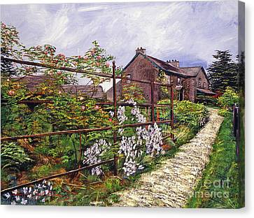 Beatrix Potter House Canvas Print by David Lloyd Glover