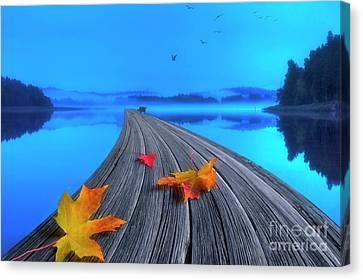 Beautiful Autumn Morning Canvas Print by Veikko Suikkanen