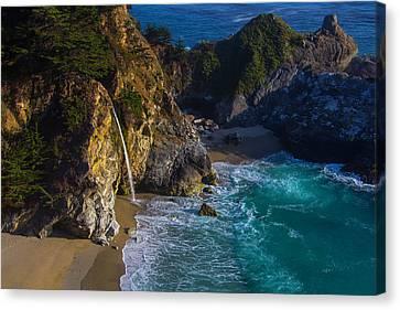 Beautiful Mcway Falls Canvas Print by Garry Gay