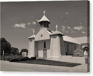 Beautiful New Mexico Church Canvas Print by Gordon Beck