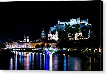 Beautiful Salzburg Canvas Print by David Morefield
