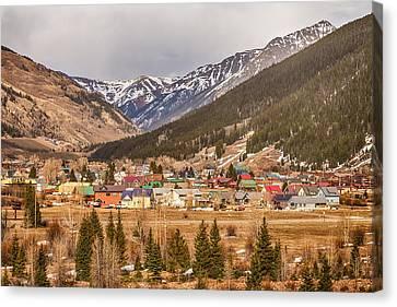 Beautiful Silverton Colorado Canvas Print by James BO  Insogna