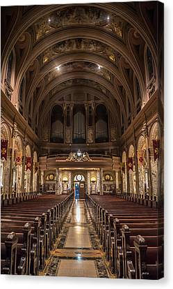 Beauty Of Religious Architecture  Canvas Print by Carlos Ruiz