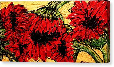 Because I Care Canvas Print by Laura  Grisham