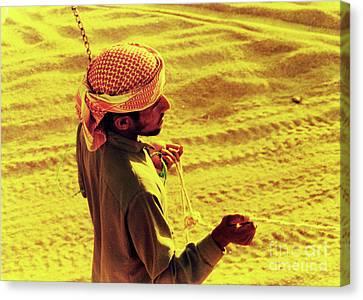 Bedouin Guide Canvas Print by Elizabeth Hoskinson