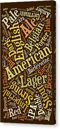Beer Lover Cell Case Canvas Print by Edward Fielding