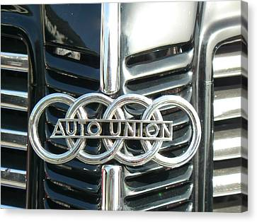 Before Audi Was Audi Canvas Print by Tammy Forristall