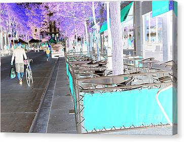 Before The Ironman Race Canvas Print by David Bearden