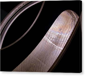 Before The Rubber Meets The Road Canvas Print by Rona Black