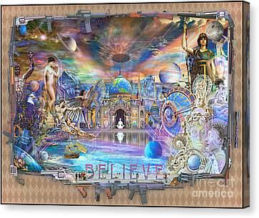 Alpha - Believe 2013 Canvas Print by John Smith