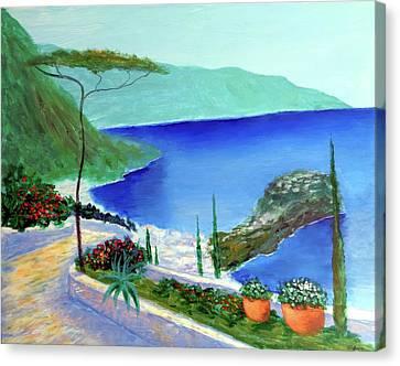 Bella Monaco  Canvas Print by Larry Cirigliano