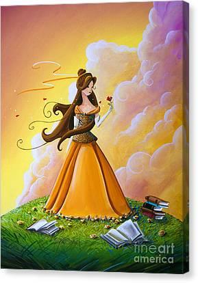 Belle Canvas Print by Cindy Thornton