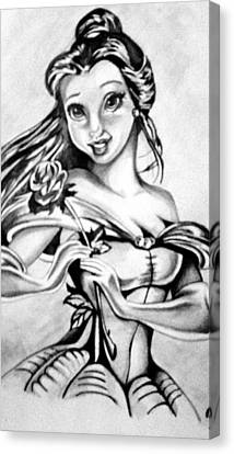 Belle  Canvas Print by Pauline Murphy