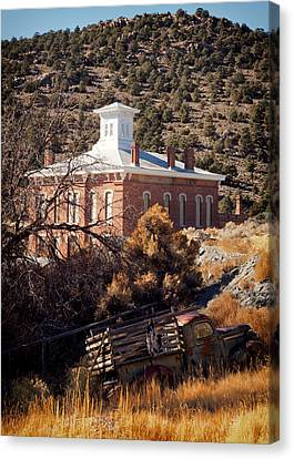Belmont Courthouse Canvas Print by Troy Montemayor