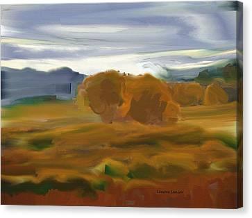 Beloved Wyoming Canvas Print by Lenore Senior