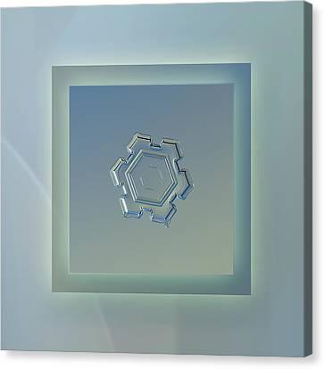 Beneath A Steel Sky - Pastel Frame Canvas Print by Alexey Kljatov