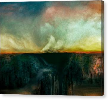 Beneath The Surface Canvas Print by Lonnie Christopher