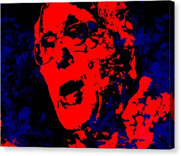 Bernie 16 Canvas Print by Brian Reaves
