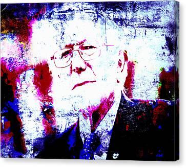 Bernie  Canvas Print by Brian Reaves