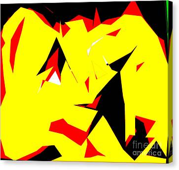 Beso Canvas Print by Fredy Holzer