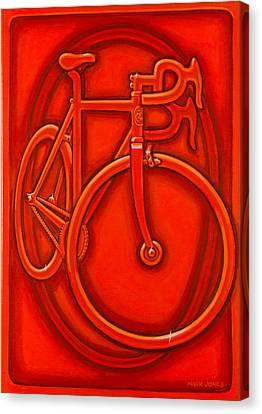 Bespoked In Orange  Canvas Print by Mark Howard Jones
