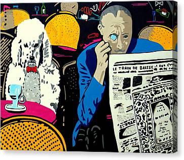 Best Buddy's Canvas Print by Irene Jonker