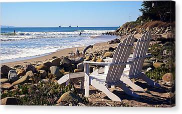 Best View Of The Point Canvas Print by Ron Regalado