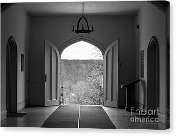 Bethany College View Canvas Print by University Icons