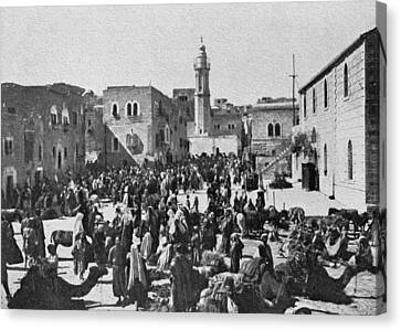 Bethlehem 1925 Canvas Print by Munir Alawi