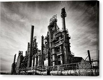 Bethlehem Steel Canvas Print by Olivier Le Queinec