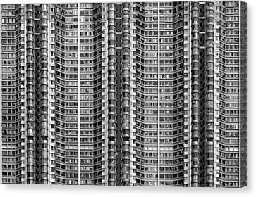 Better Know Where Your Flat Is Canvas Print by Stefan Schilbe