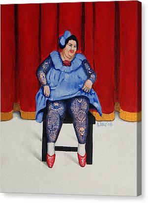 Betty 1 Canvas Print by Matthew Lake