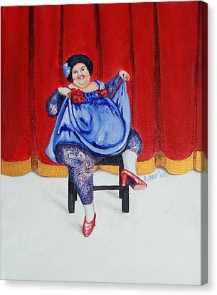 Betty II Canvas Print by Matthew Lake