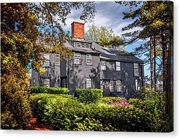 Bewitching Salem Canvas Print by Carol Japp