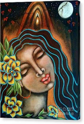 Beyond The Beyond Canvas Print by Maya Telford